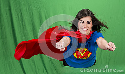 super-mother-green-screen-24709525