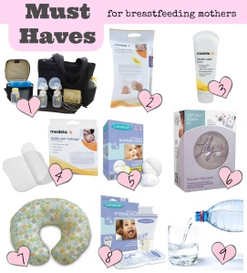 Breastfeeding Must Haves