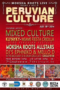 Moksha-Roots-Live-Presents-A-Taste-of-Peruvian-Culture-July-18-2014-