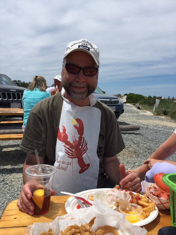 Mark and Lobster