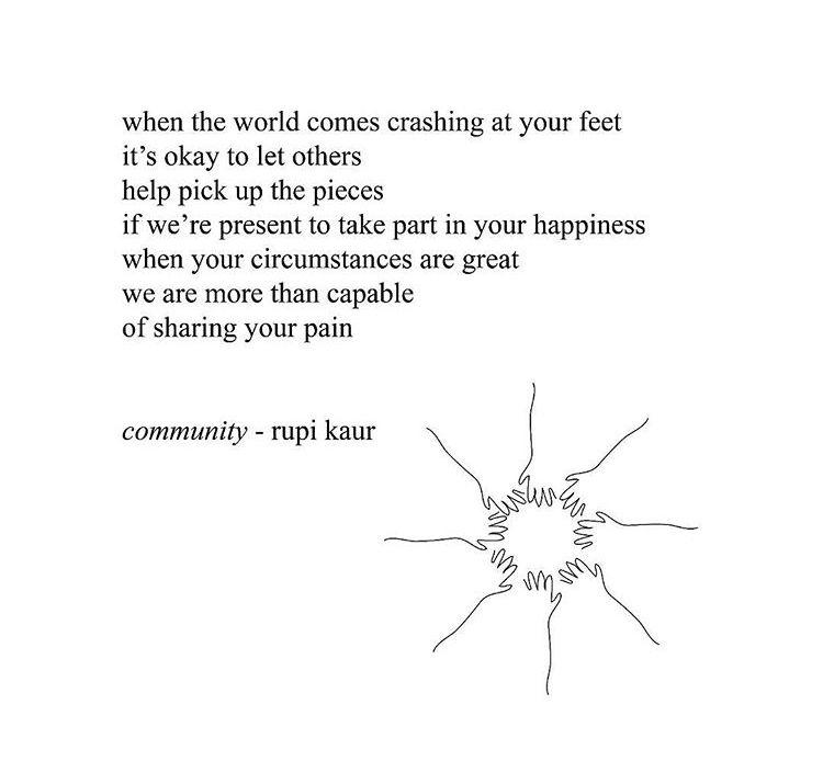 community poem