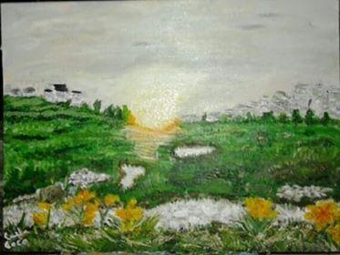 Carla's painting
